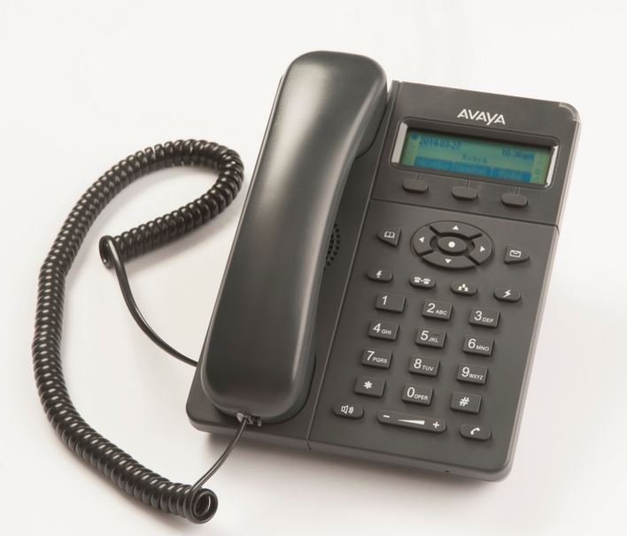 Avaya E129 SIP Desk Phone